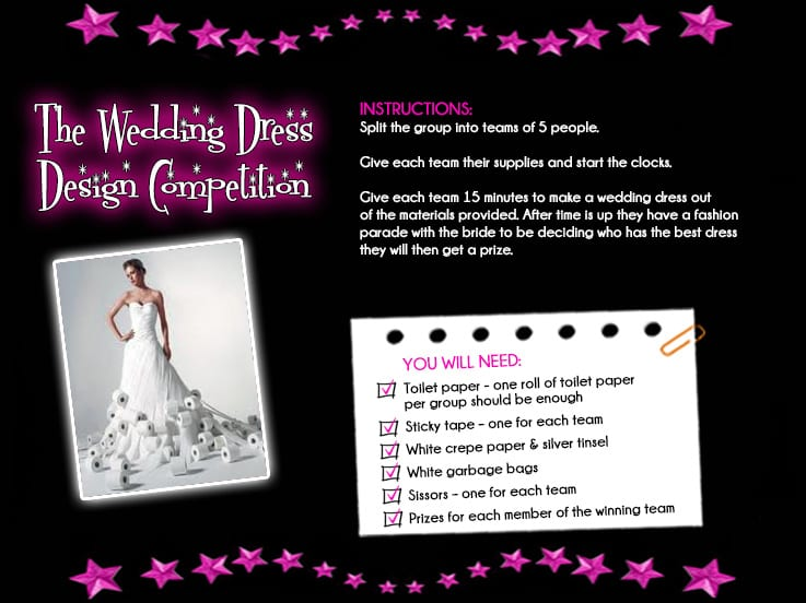 The Wedding Dress Design Competition